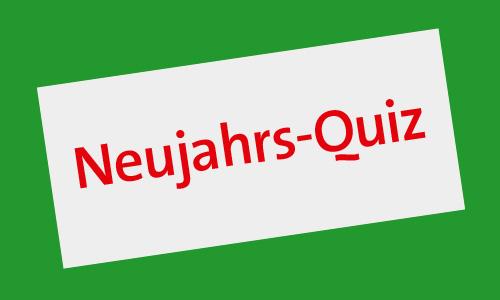 Neujahrs-Quiz 2014