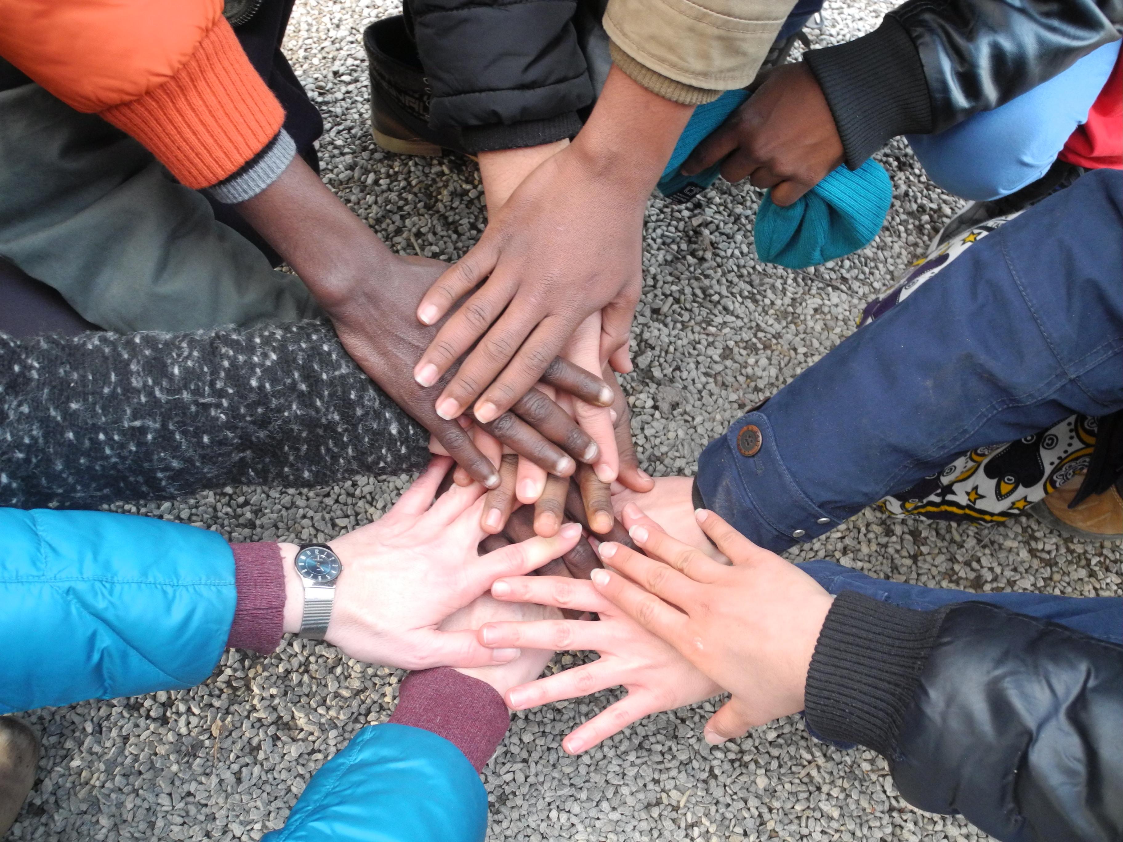 Ausflug in den Wildpark mit jugendlichen Flüchtlingen der Clearingstelle Erding