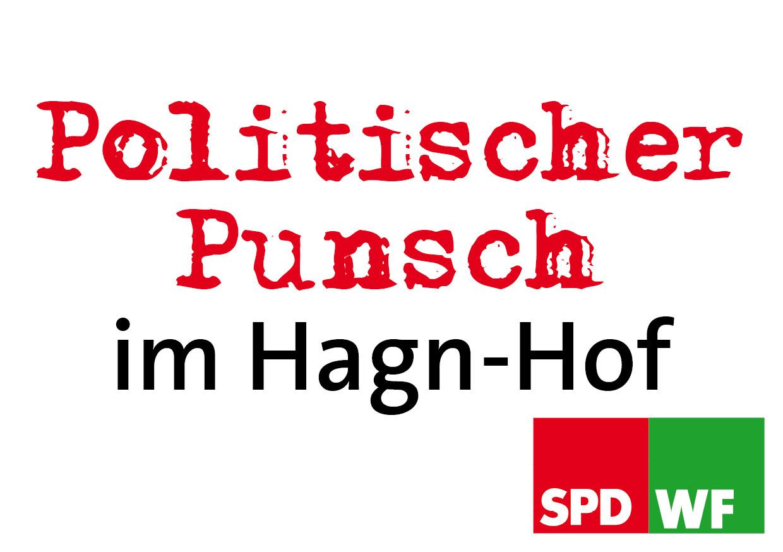 Politischer Punsch in Hagn-Hof