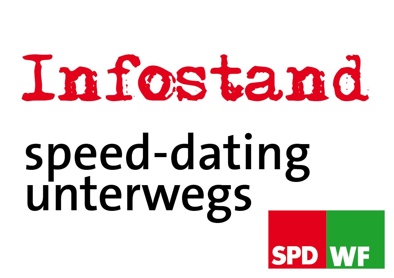 Infostand - speed-dating unterwegs