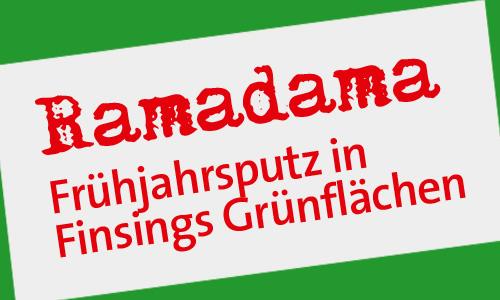 Ramadama – Frühjahrsputz in Finsings Grünflächen erledigt