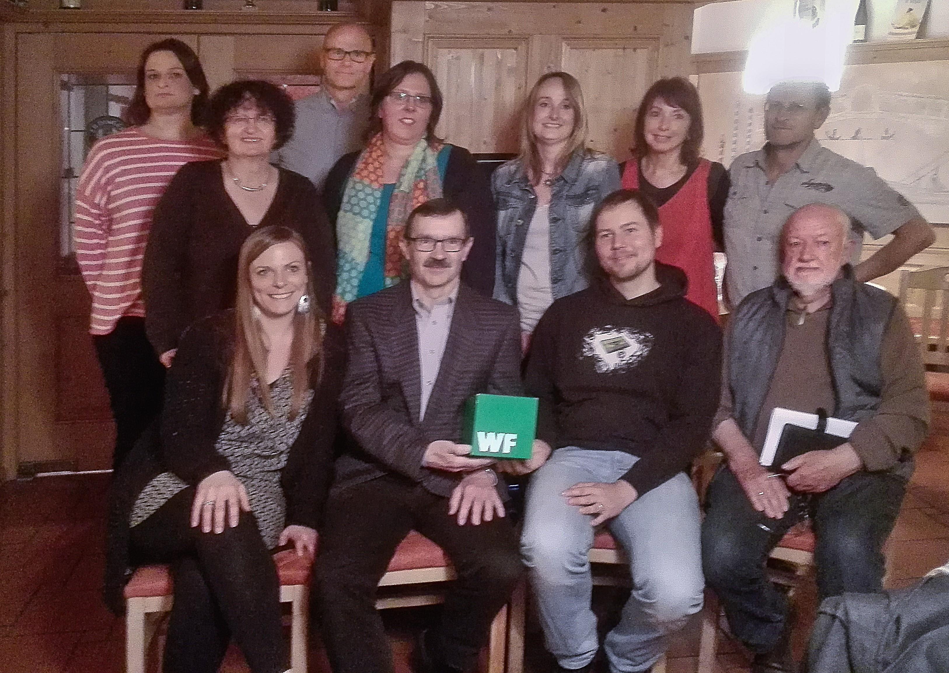 Erfolgreiche Jahreshauptversammlung Grünes Wählerforum Finsing