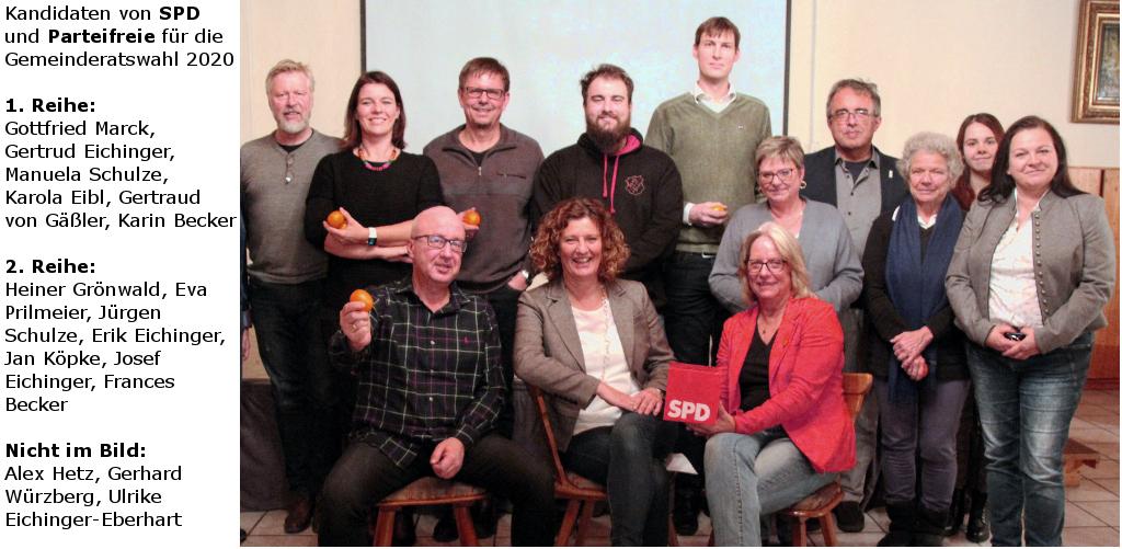 Aufstellungsversammlung SPD und Parteifreie