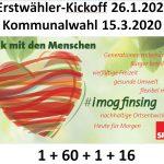 Erstwähler - Kickoff 2020