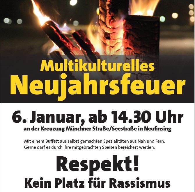Multikulturelles Neujahrsfeuer am 6.1.2020