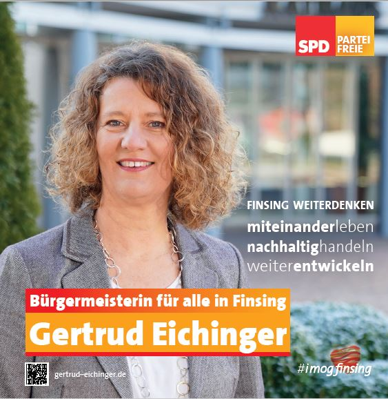 Gertrud als Bürgermeisterin von Finsing