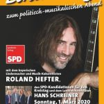 SPD Konzert mit Roland Hefter