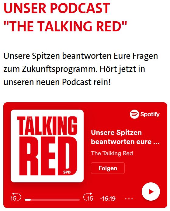 """Zukunft für Dich - """"The Talking Red"""""""