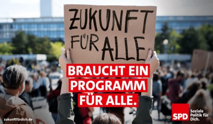 Unser Zukunftsprogramm. Für Deutschland. Für Dich.