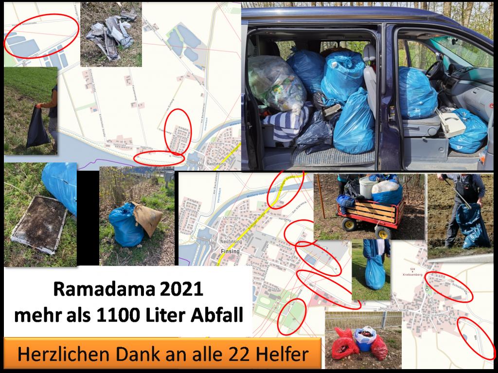 Ramadama 2021: Zusammen geht mehr!