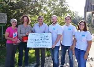 Spendenübergabe an WEISSER RING